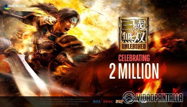 Dynasty Warriors: Unleashed supera las dos millones de descargas