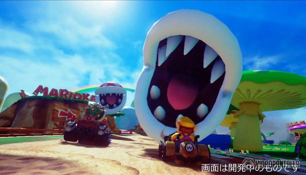Nuevo vídeo de Mario Kart Arcade GP VR