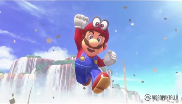 Super Mario Odyssey mejor juego de la GAMESCOM 2017