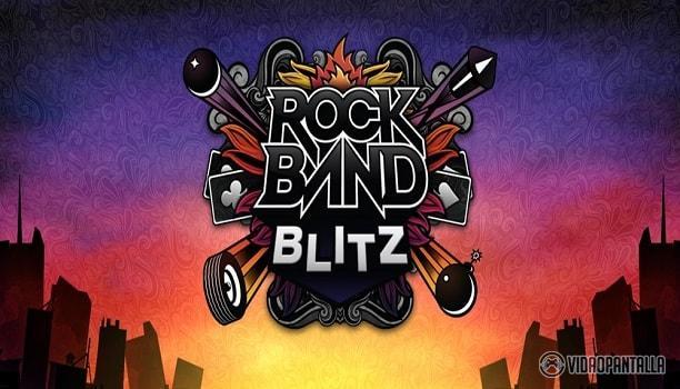 Rock Band Blitz dejará de estar en el mercado próximamente