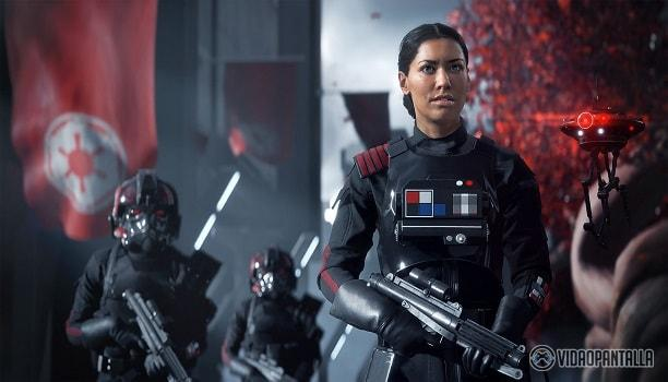 Iden Versio, arroja luz al universo Star Wars Battlefront II