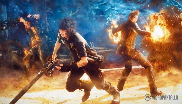 Se anuncian la Pocket Edition de Final Fantasy XV