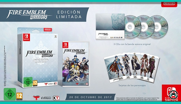 Fire Emblem Warriors ampliará su aventura con paquetes descargables