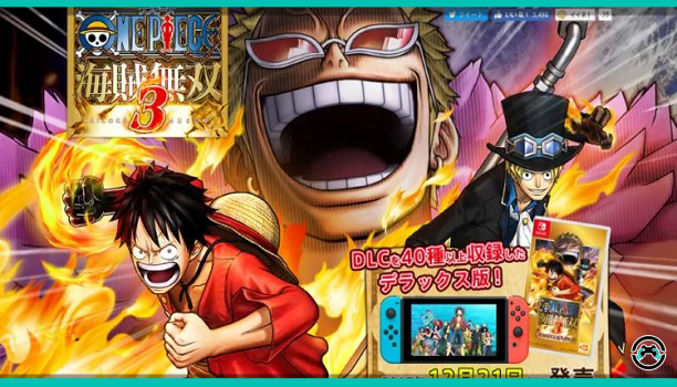 One Piece Pirate Warriors 3 Deluxe Edition confirmado para Switch