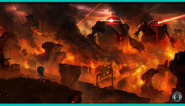 Primer cómic digital de Sonic Forces ya disponible