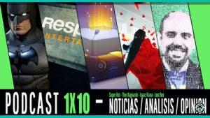 PODCAST con ISAAC VIANA 1x10 Telltale Games, Huelga de Actores de voz, Loot boxes y Super Hot