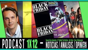 PODCAST 1x12 Rafael Martinez, Bélgica y las apuestas, Black Friday y Pokémon USUM