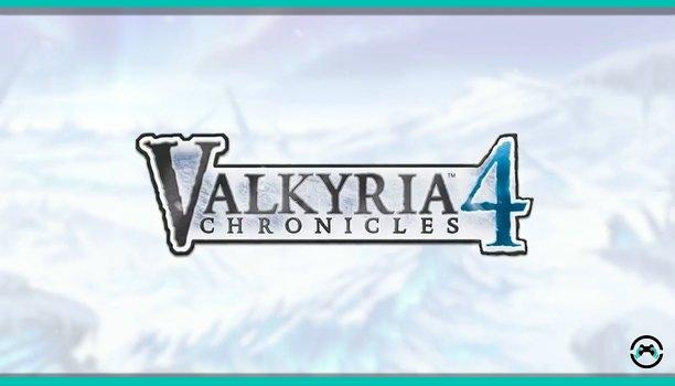 Ya podéis jugar a la demo del esperado Valkyria Chronicles 4