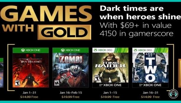 Games With Gold enero 2018 - Xbox One y Xbox 360