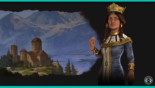 Tamara dirigirá a Georgia en Civilization VI: Rise and Fall