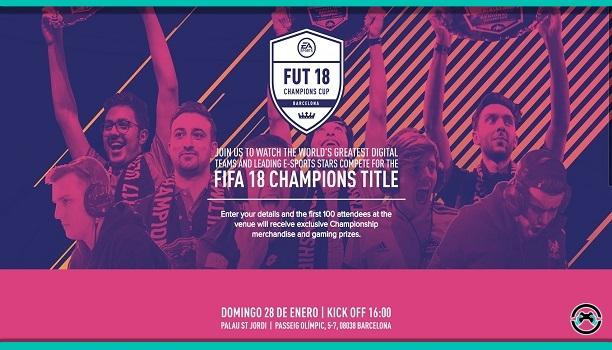 La EA SPORTS FIFA 18 Global Series llega a España