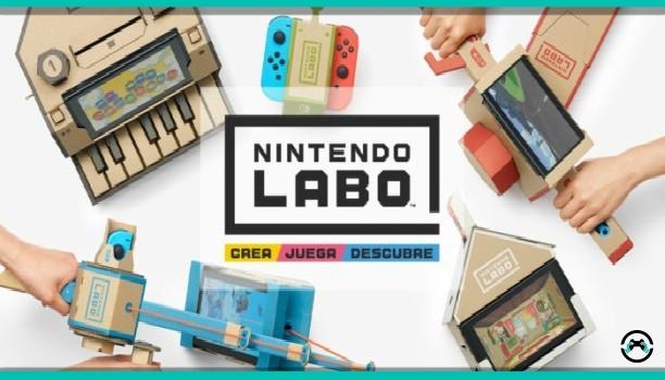 Nintendo Labo presenta nuevo kit de vehículos