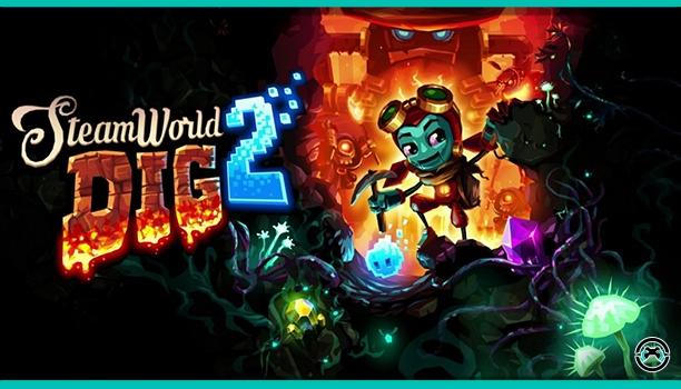 La semana que viene llega Steamworld Dig 2 a Nintendo 3DS