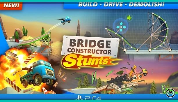Bridge Constructor Stunts saldrá próximamente en PlayStation 4