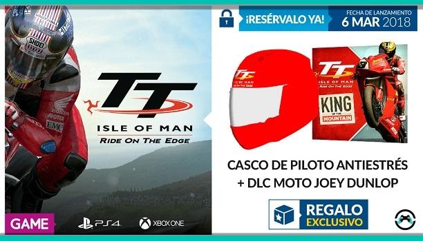 TT Isle Of Man tiene un regalo exclusivo en GAME