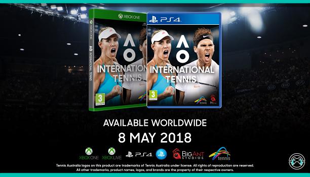 La versión digital de AO International Tennis ya se encuentra disponible