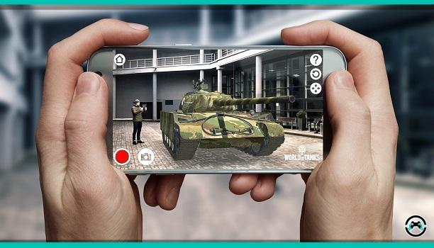 La AR Experience de World of Tanks ya se encuentra disponible