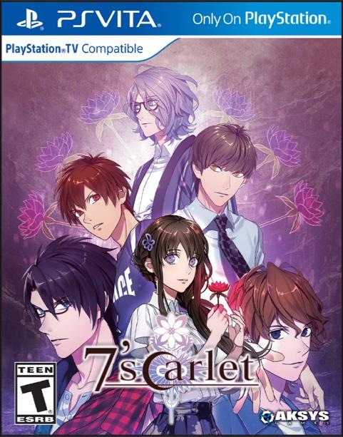 El otome 7'scarlet ya se encuentra disponible en PlayStation Vita