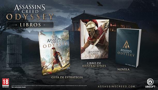 Assassin's Creed Odyssey tendrá su propia línea editorial