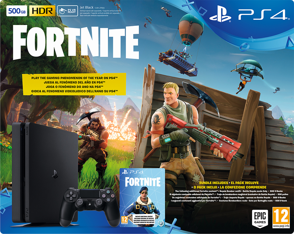 El pack de Fortnite Battle Royale y PlayStation 4 ya está a la venta en España