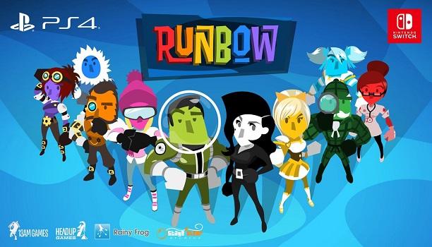 Runbow ya se puede disfrutar en PlayStation 4 y Nintendo Switch