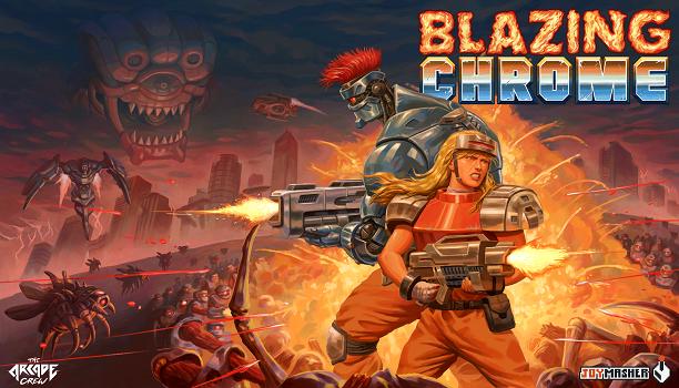 Blazing Chrome estrena un nuevo gameplay cargado de acción
