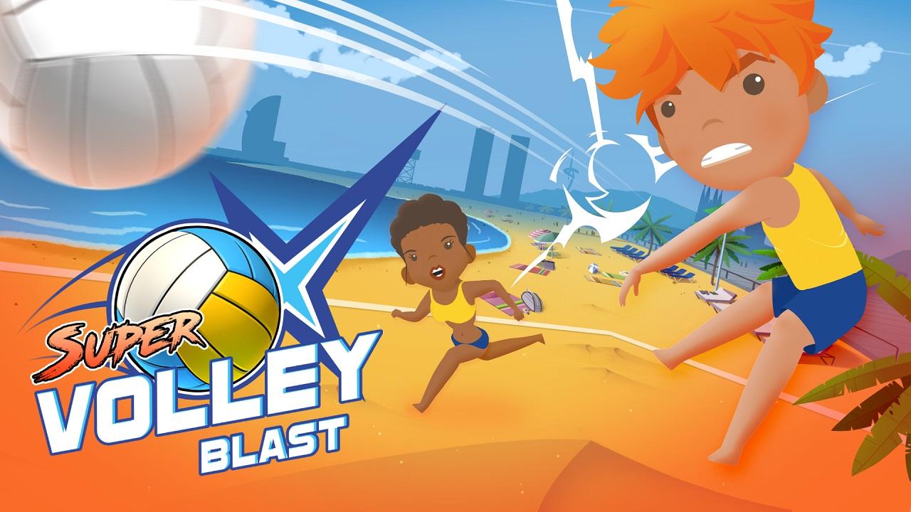 Super Volley Blast estará disponible en Nintendo Switch el día de mañana