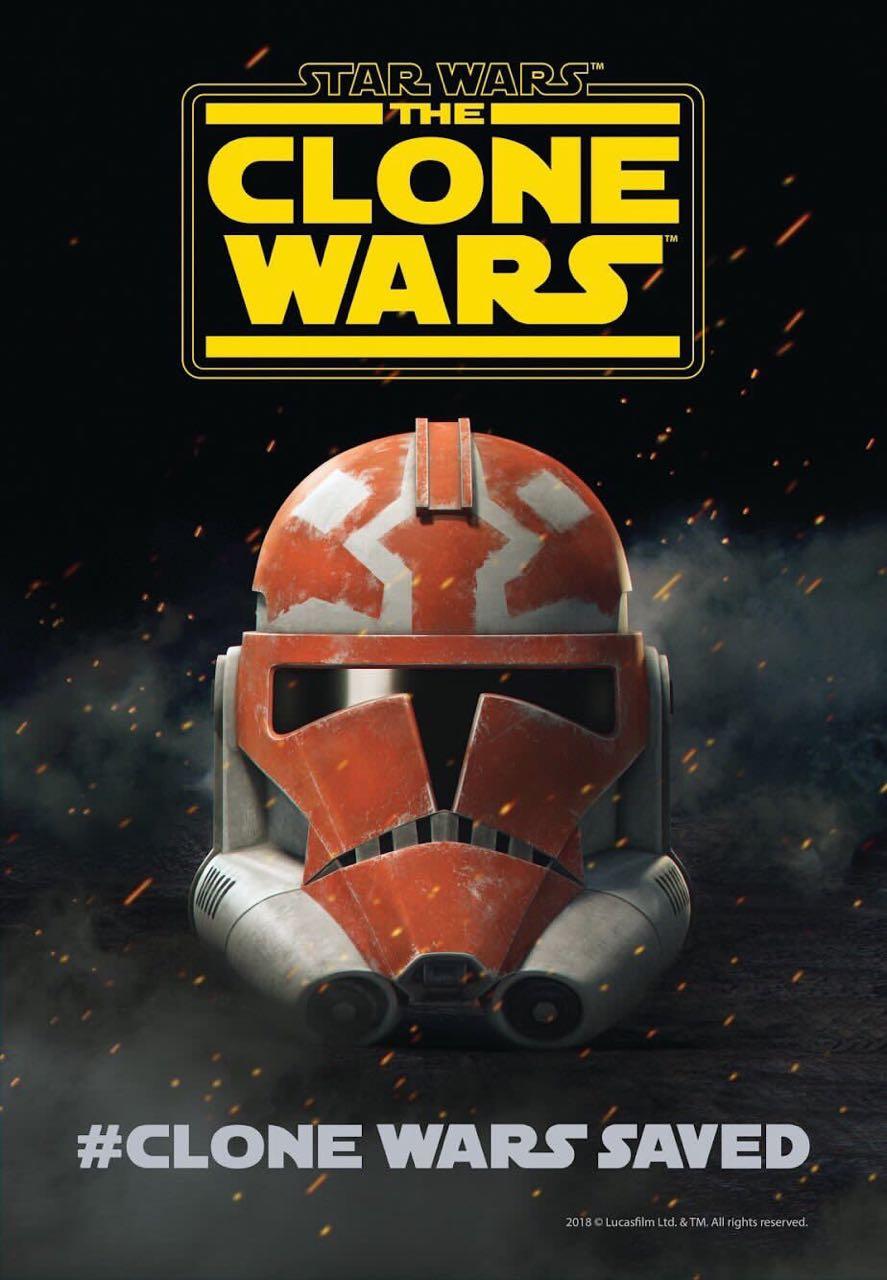 Star Wars: The Clone Wars anuncia su regreso en la San Diego Comic-Con