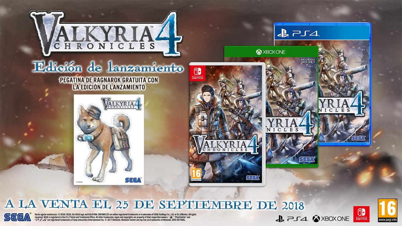 SEGA muestra la secuencia introductoria de Valkyria Chronicles 4