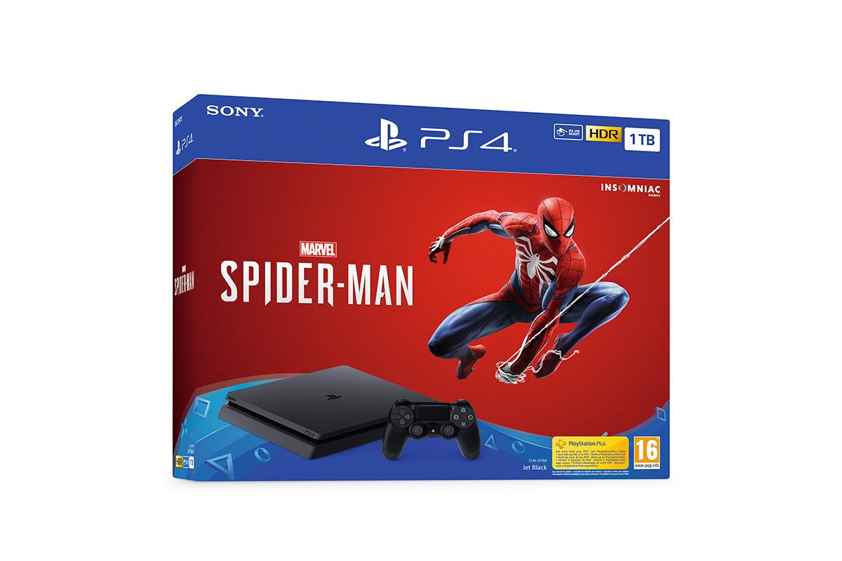 Presentada la PlayStation 4 de Edición Limitada dedicada a Marvel's Spider-Man