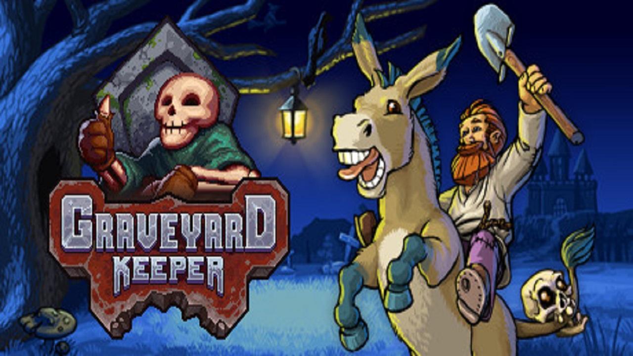 Graveyard Keeper ya está a la venta ¿quieres tener un cementerio?