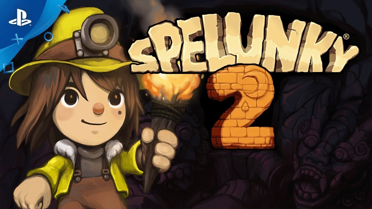 Primer tráiler del divertido Spelunky 2