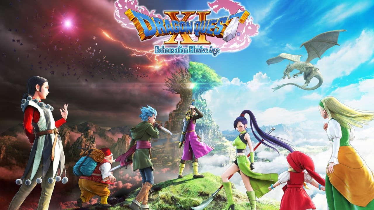 Conocemos a los protagonistas de Dragon Quest XI
