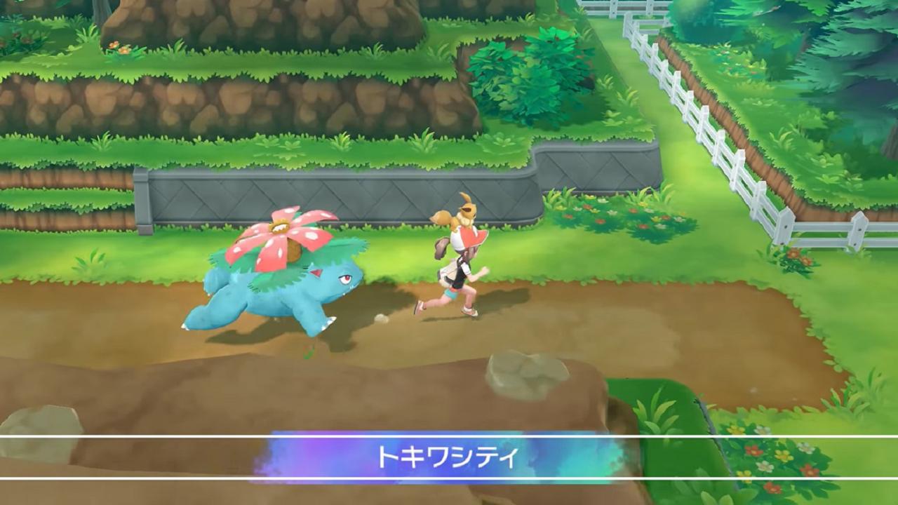 Pokémon Let's Go: la megaevolución y mucho más en su último anuncio
