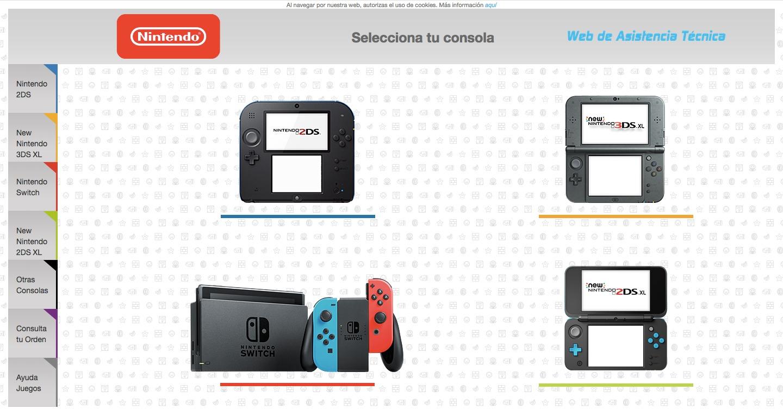 Cómo tramitar con el servicio técnico de Nintendo