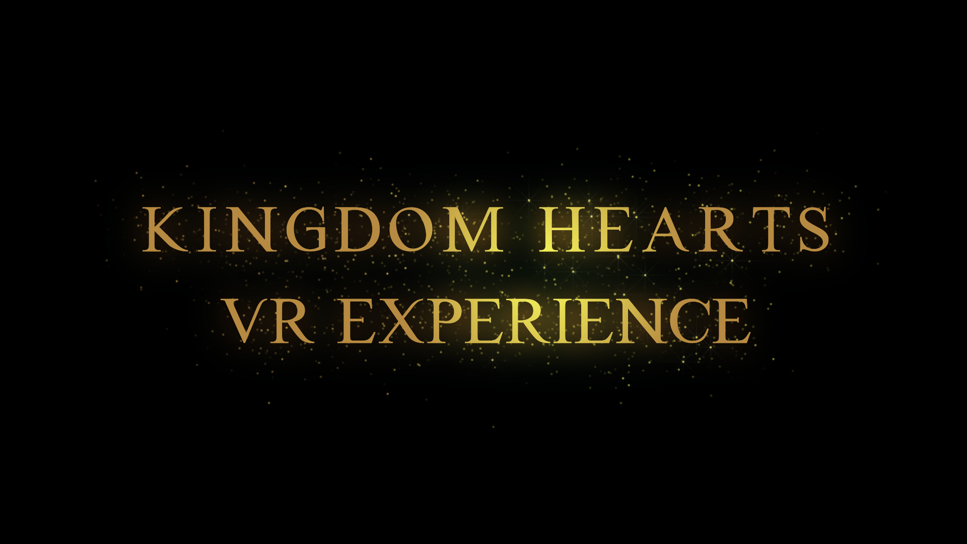 KINGDOM HEARTS: VR Experience anunciado en la conferencia de Sony