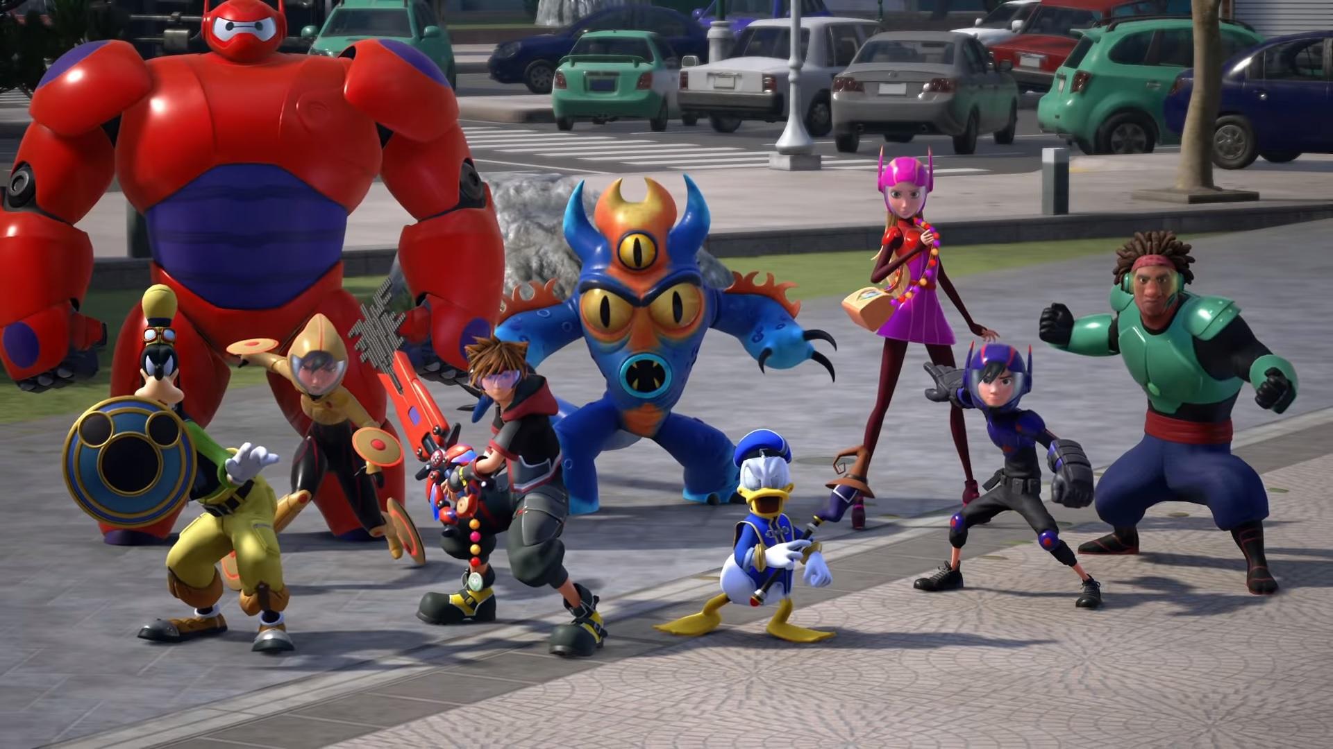 Kingdom Hearts III enseña más sobre su historia en su tráiler extendido