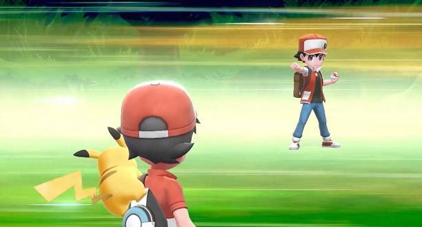 Pokémon: Let's Go Pikachu/Eevee! presenta a Rojo, Azul y Verde