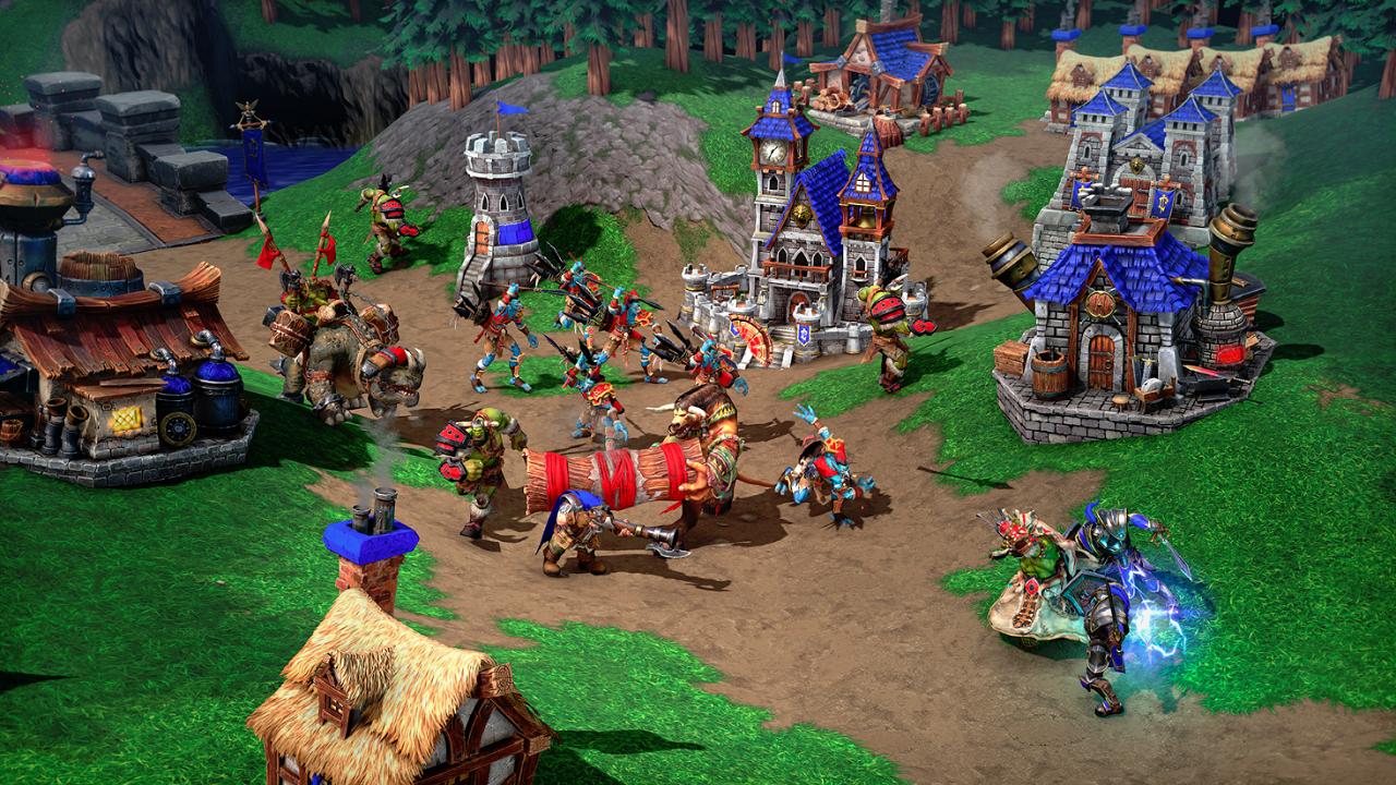Warcraft III: Reforged, no solamente un remake