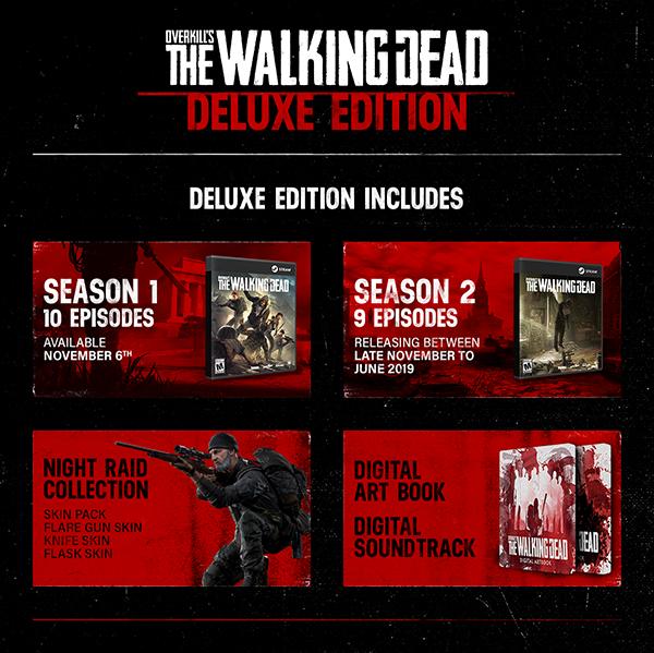 Overkill's The Walking Dead ya está disponible