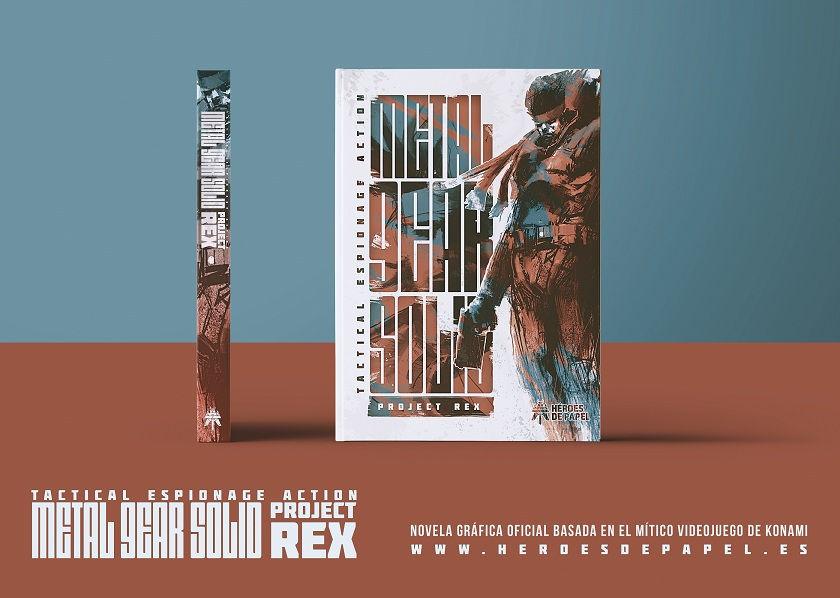 La genial portada de Metal Gear Solid: Project Rex