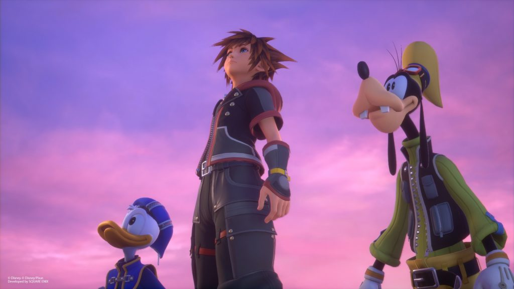 Merchandising exclusivo de Kingdom Hearts III en Game