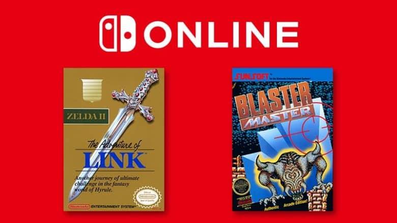 Zelda 2 y Blaster Master disponibles el 16 de febrero en Nintendo Switch Online.