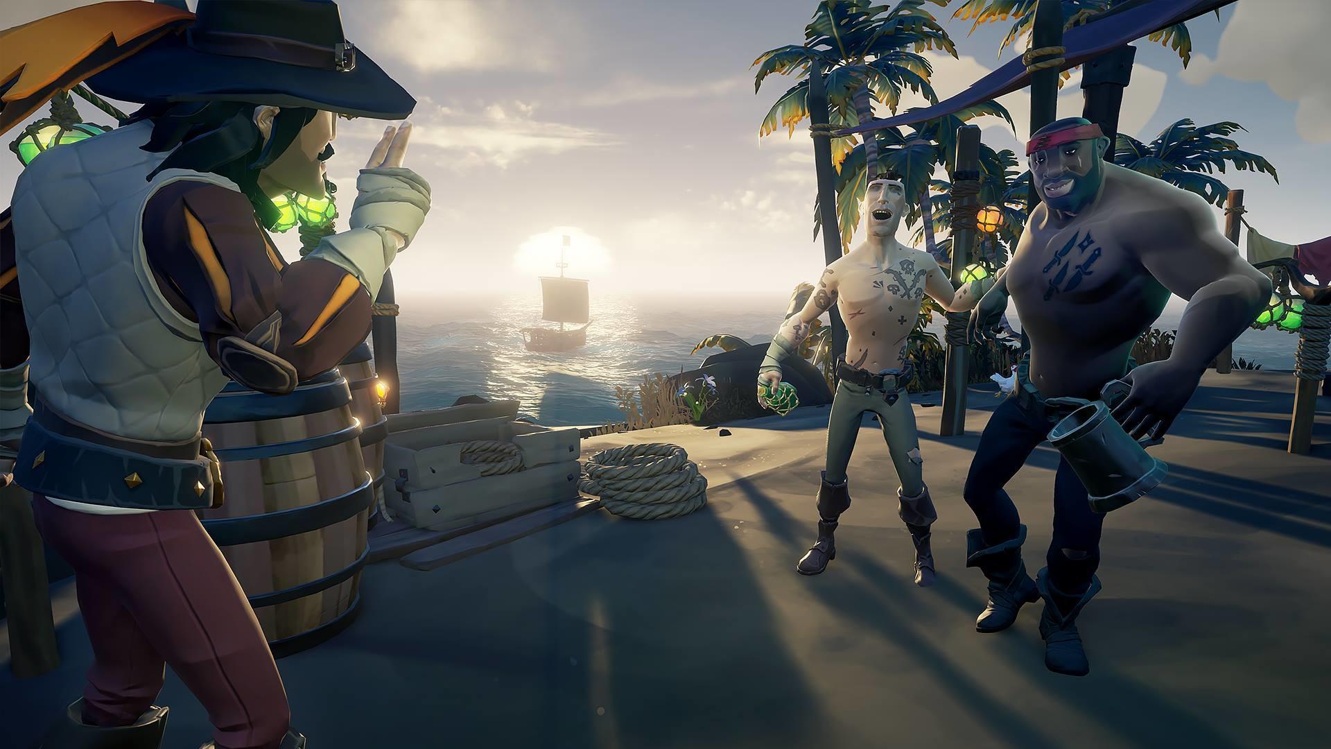 Sea of Thieves: invita gratis a tus amigos