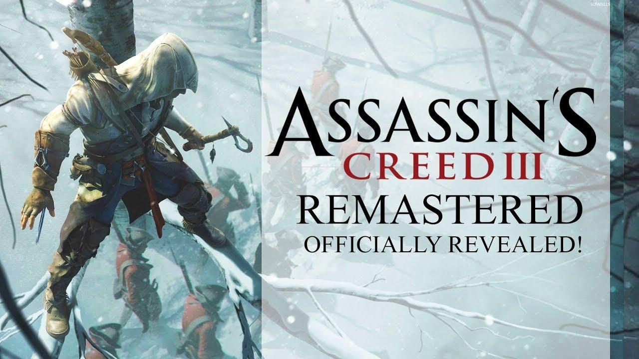 Assassin's Creed III Remastered verá la luz próximamente