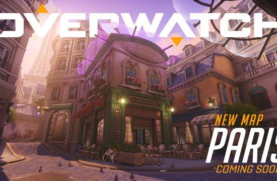 El nuevo mapa de Overwatch: París