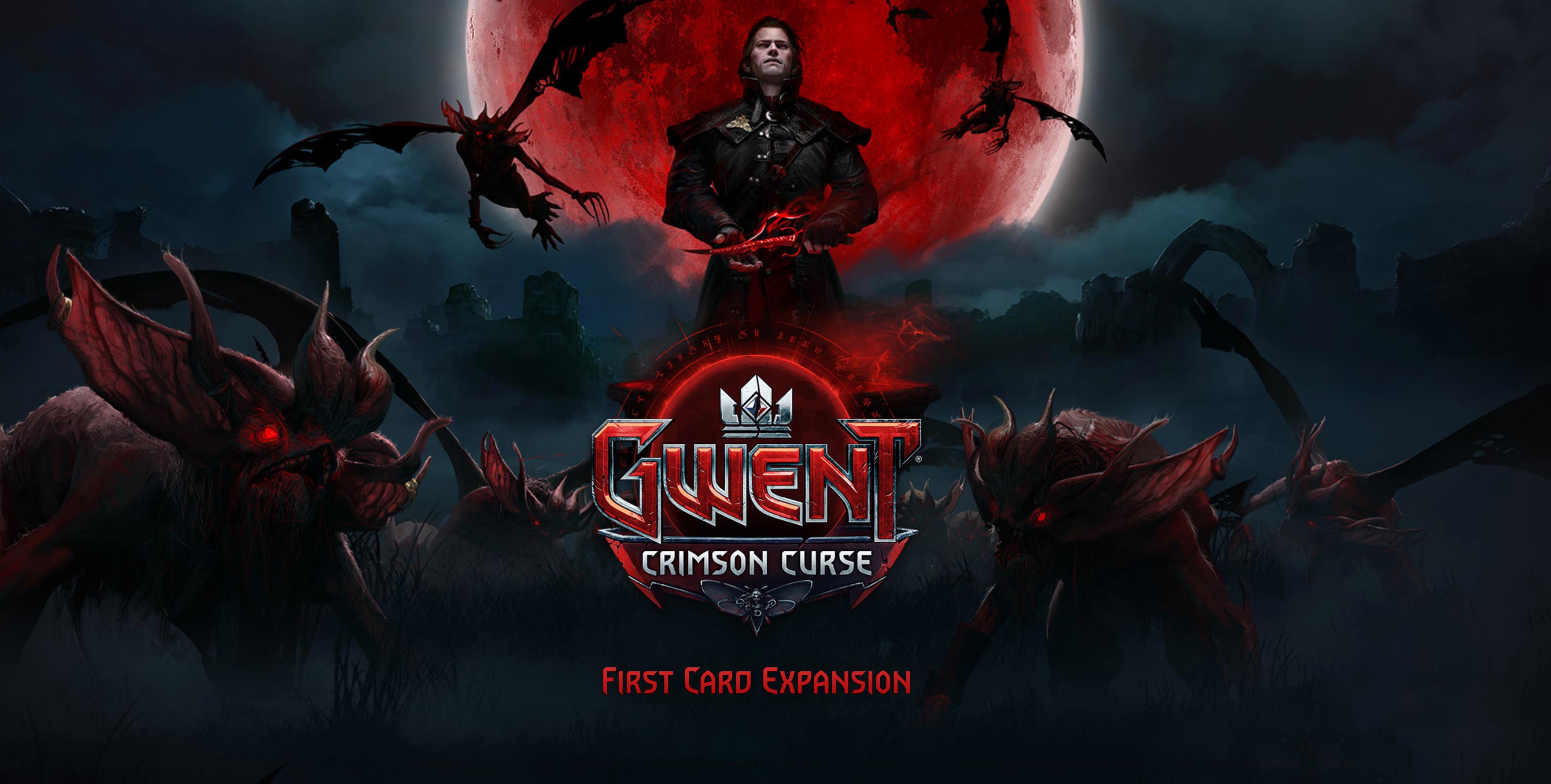 Crimson Curse la expansión para Gwent llega este mes