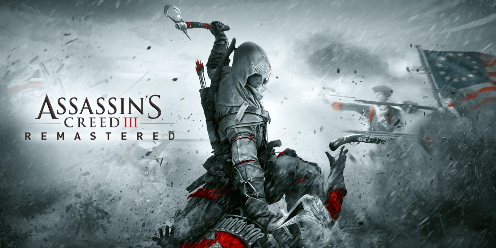 Assassin's Creed III Remastered ya está disponible en Nintendo Switch