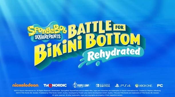 Anunciado SpongeBob SquarePants: Battle for Bikini Bottom Rehydrated de THQ
