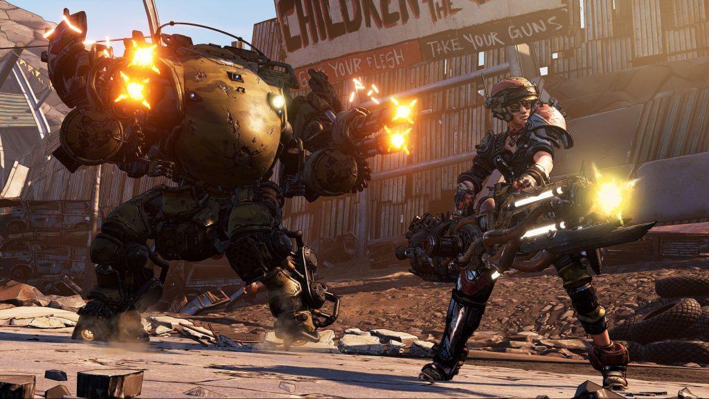 2K Games muestra nuevas imágenes de Moze en Borderlands 3